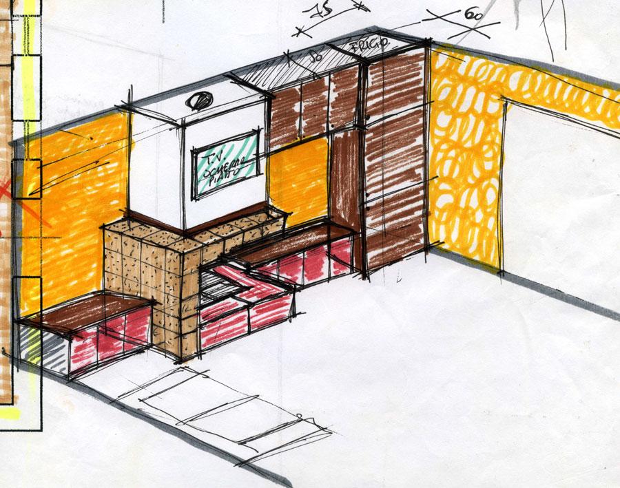 Faretti nelle finte travi ~ idee di design nella vostra casa